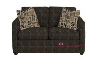 Savvy San Francisco Twin Sleeper Sofa in Snapshot Ebony