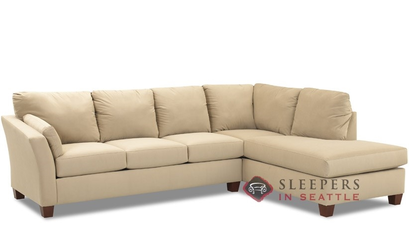Customize and personalize sienna chaise sectional fabric Sleeper sofa sectional