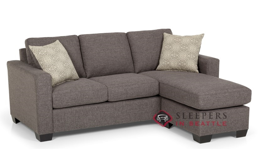 Customize And Personalize 702 Chaise Sectional Fabric Sofa