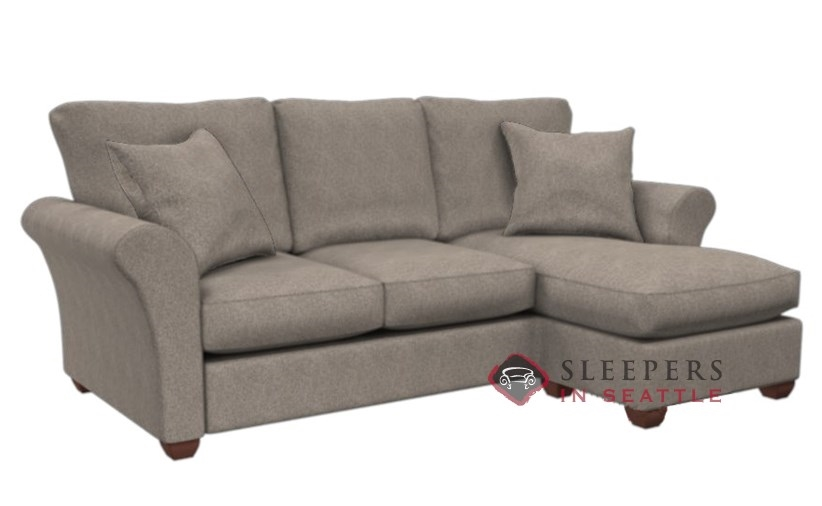 Customize And Personalize 320 Chaise Sectional Fabric Sofa