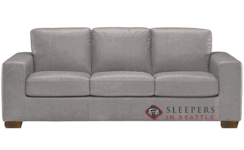 natuzzi b534 sleeper in denver medium grey queen