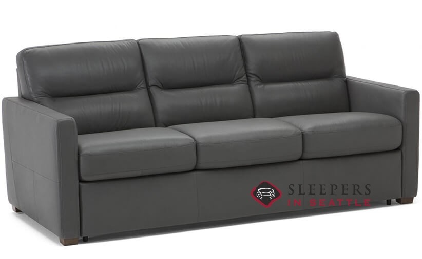 Customize And Personalize Conca Queen Leather Sofa By
