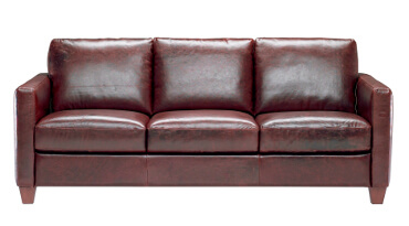 Liri Leather Sofa for Hospitality