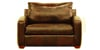 Boulder Leather Sleeper Sofa