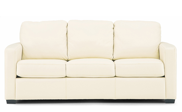 Carlten Full Leather Sleeper Sofa