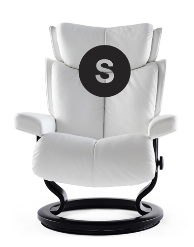 Small Frame Magic Stressless Recliner