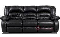 Augusta Reclining Leather Sofa by Savvy