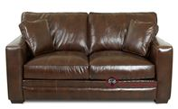 Savvy Chandler Leather Loveseat
