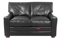 Savvy Halifax Leather Loveseat