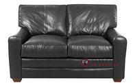 Savvy Halifax Leather Loveseat