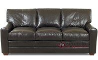 Savvy Halifax Leather Queen Sleeper Sofa