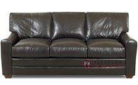 Savvy Halifax Leather Queen Sleeper Sofa