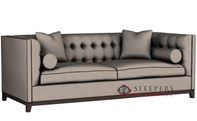 Lazar Industries Jared Sleeper Sofa in Woolco Beige (Queen)