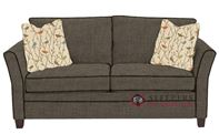 Savvy Murano Sleeper Sofa in Dumdum Stone (Full)