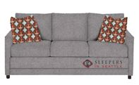 The Stanton 200 Sleeper Sofa in Jitterbug Ash (Queen)