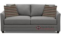 Savvy Valencia Sleeper Sofa in Oakley Graphite (Queen)