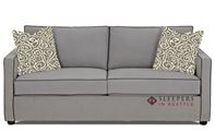 Savvy Portland Queen Sleeper Sofa in Brookside Grey