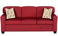 Savvy Zurich Sleeper Sofa in Oakley Tomato (Queen)