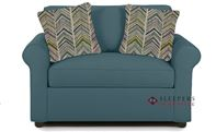 Savvy Ottawa Chair Sleeper Sofa in Lily Peacock