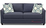 Savvy Valencia Sleeper Sofa in Fandango Indigo (Queen)
