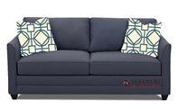 Savvy Valencia Full Sleeper Sofa in Fandango Indigo