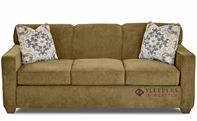 Savvy Geneva Sleeper Sofa in Empire Moss (Queen)
