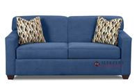 Savvy Geneva Sleeper Sofa in Empire Indigo (Full)