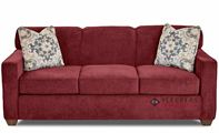 Savvy Geneva Sleeper Sofa in Empire Berry (Queen)