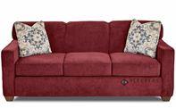 Savvy Geneva Sleeper Sofa in Empire Berry (Queen)