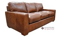 Omnia City Craft Leather Sofa