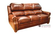 Omnia San Juan Full Leather Sofa Bed