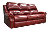 Omnia San Clemente Full Leather Sleeper Sofa