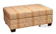 Omnia Dreamsations 107 Ottoman Leather Cot Sleeper Sofa