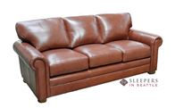 Omnia Dream Maker 104 Queen Leather Sleeper Sof...