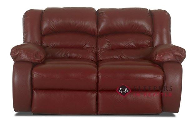 Savvy Augusta Leather Loveseat