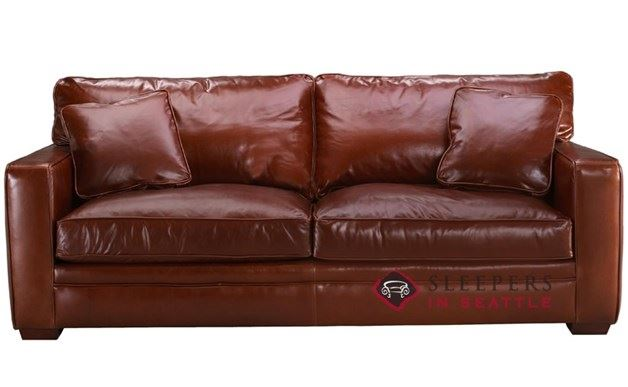 Savvy Houston Leather Sleeper (Queen)