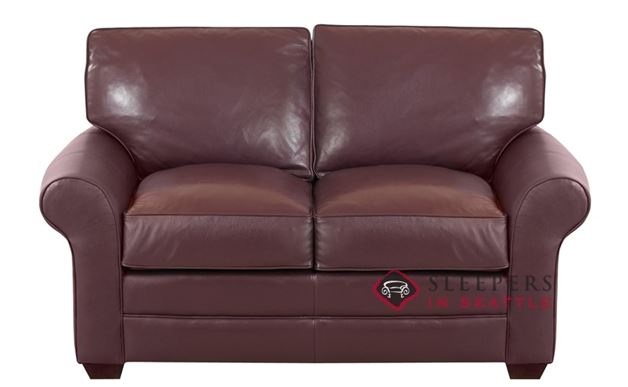 Savvy Montreal Leather Loveseat