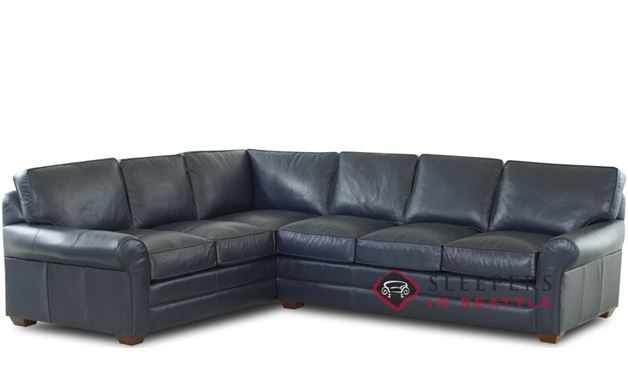 Savvy Montreal Leather True Sectional