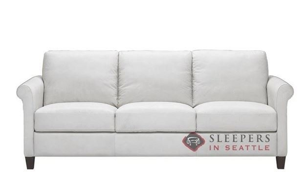 Natuzzi B580 Sleeper in Le Mans White (Queen)