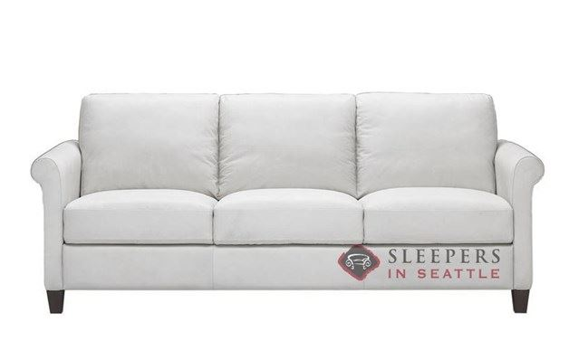 Natuzzi B580 Sleeper in Belfast White (Queen)