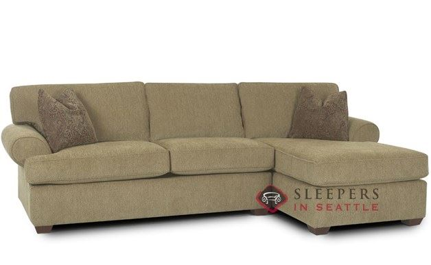 Savvy Tacoma Chaise Sectional Sleeper