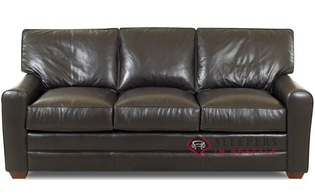 Savvy Halifax Leather Sleeper (Queen)
