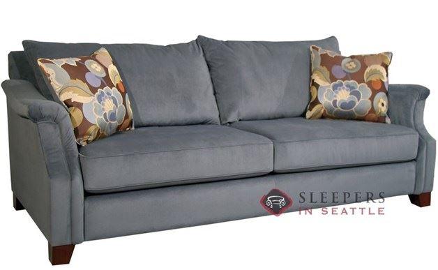 Fairmont Designs Player Sofa shown in Aces Cornflower