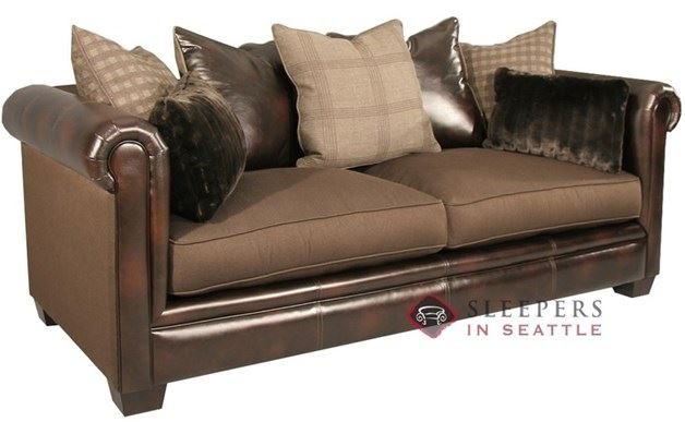 Fairmont Kate Sofa in Tasha Coffee + Will Chocolate