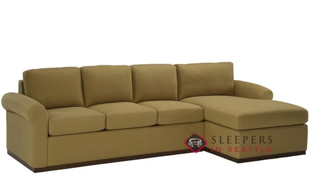 Lazar Industries Eclipse Chaise Sectional with 3-Cushion Earth Designs Sofa