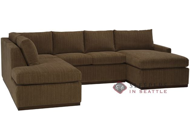 The Terra U-Sectional with Condo Sleeper (Queen)