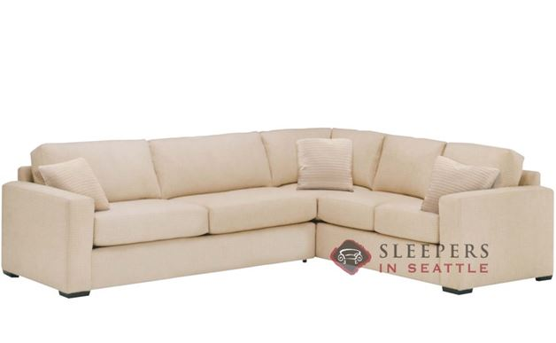 Lazar Sutton Place II True Sectional with 2-Cushion Sleeper (Queen)