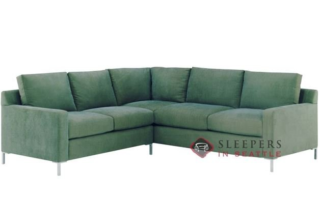 Lazar Industries Soho II True Sectional with 2-Cushion Sofa