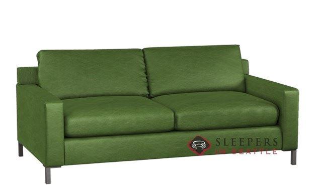 Lazar Soho II Leather 2-Cushion Sleeper (Queen)