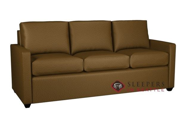 The Terra 3-Cushion Leather Sleeper (Queen)